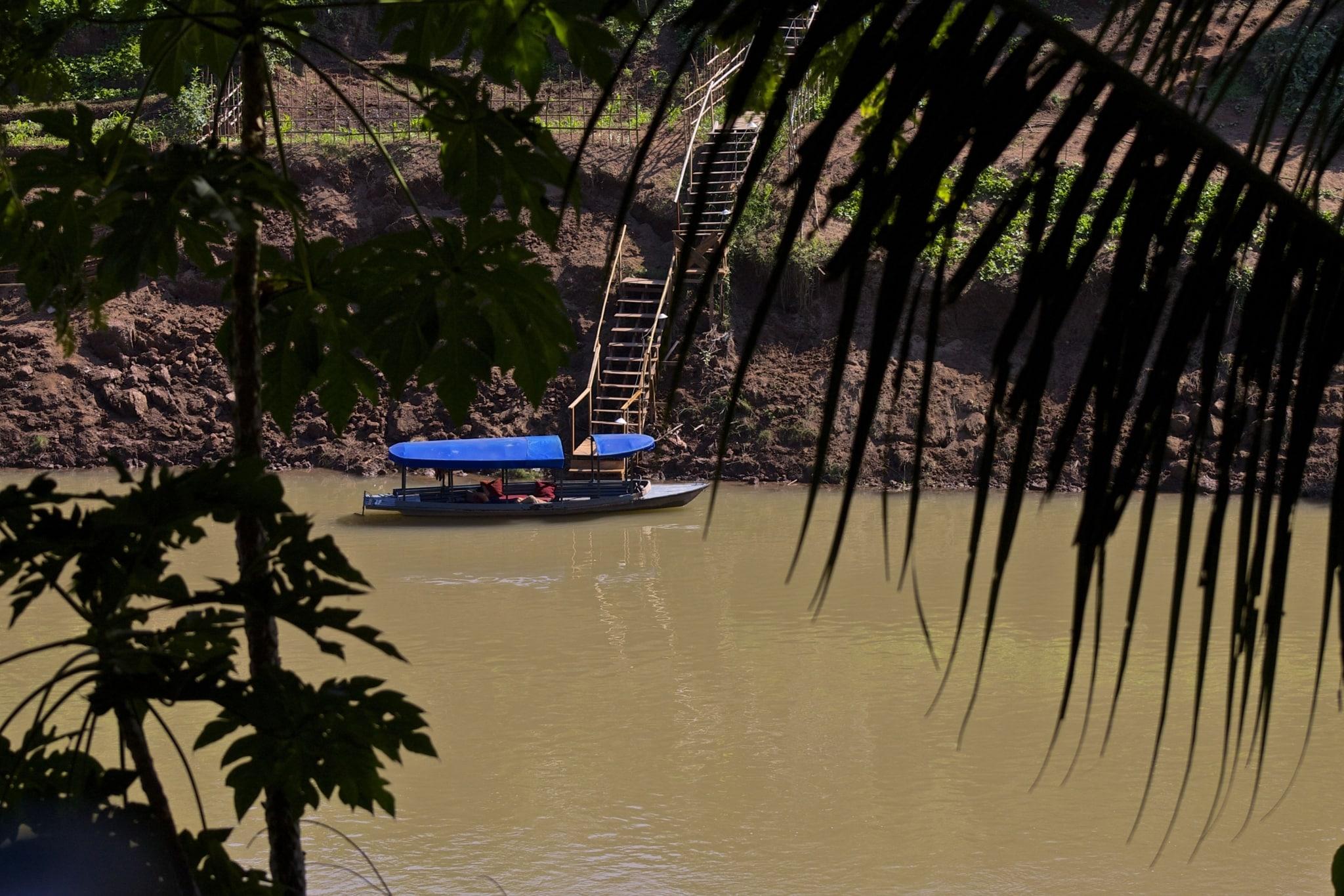 Lao Mekong River