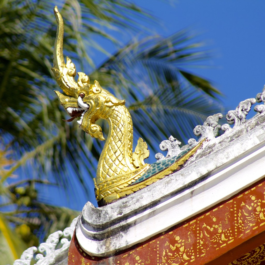 Laos Temple Photo