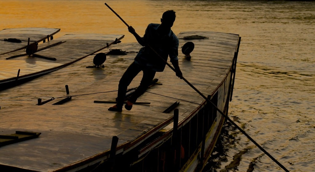 Laos Mekong Sunset Photo Essay