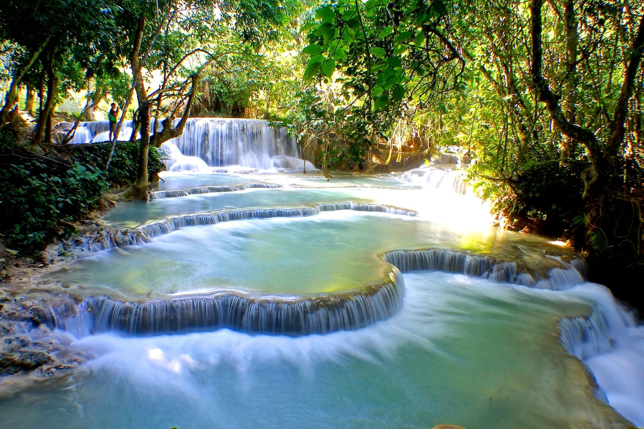 Laos Waterfall