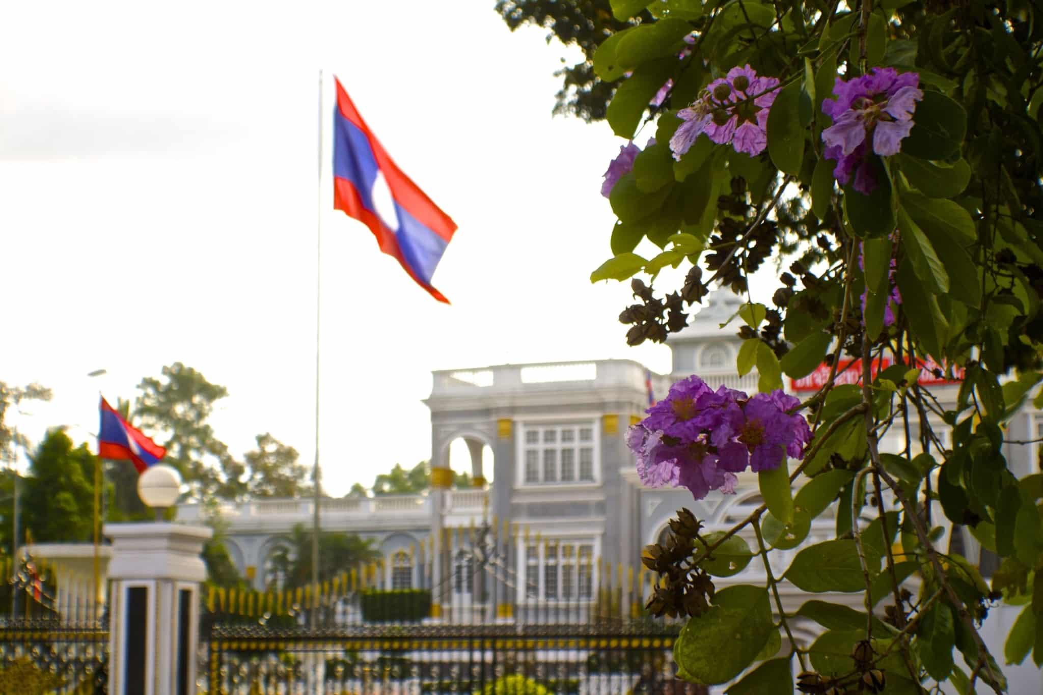 Vientiane Laos Palace