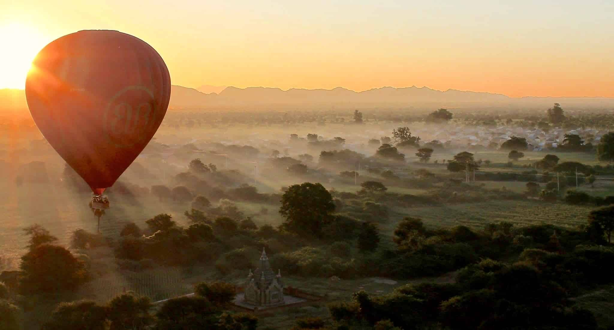 Burma Sunrise Photography