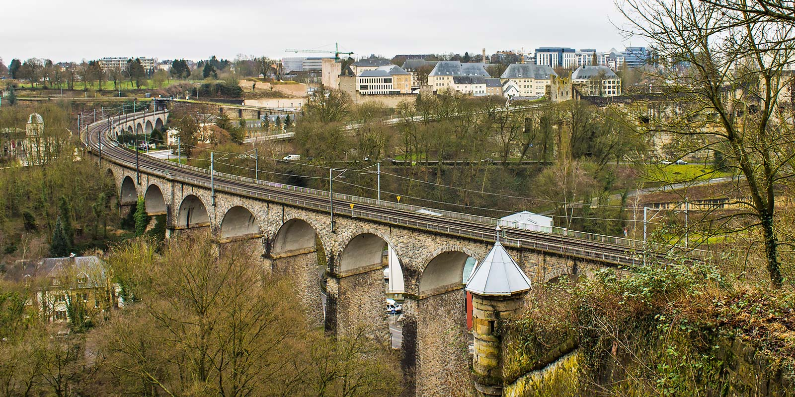Luxemboug City Views