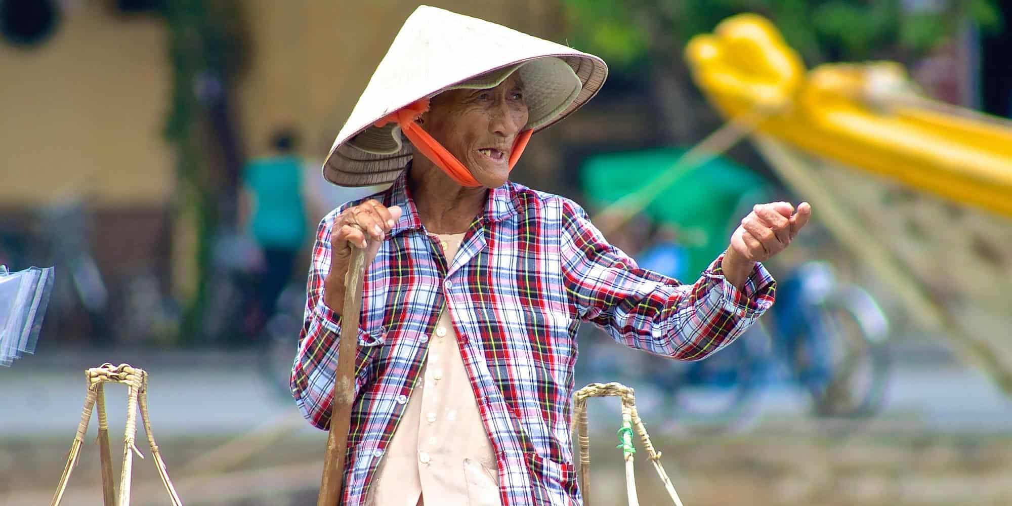 Vietnam Hoi An Lady Smile