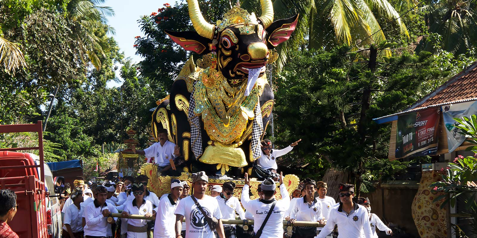Bali Traditional Parade