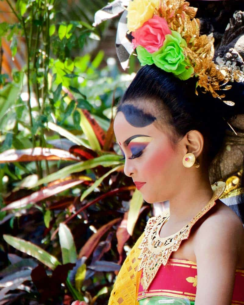 Bali Traditionl Girl