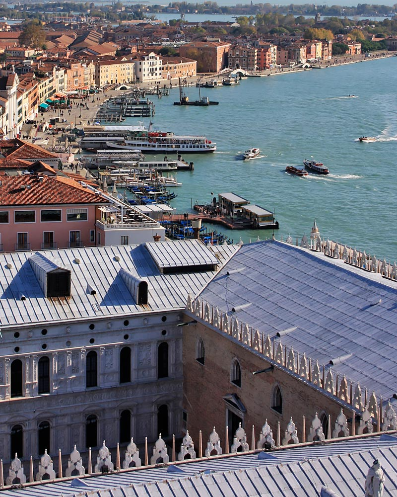 Italy Venice Above
