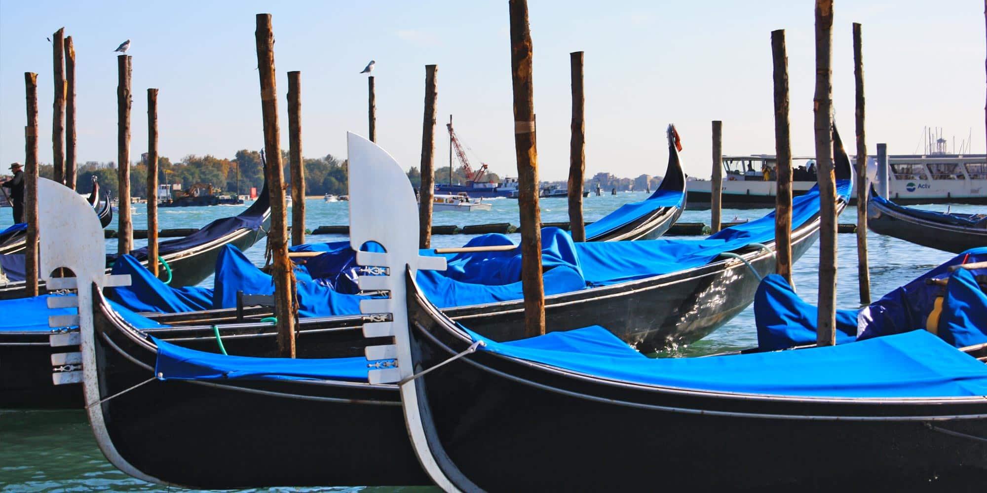 Italy Venice Gondala