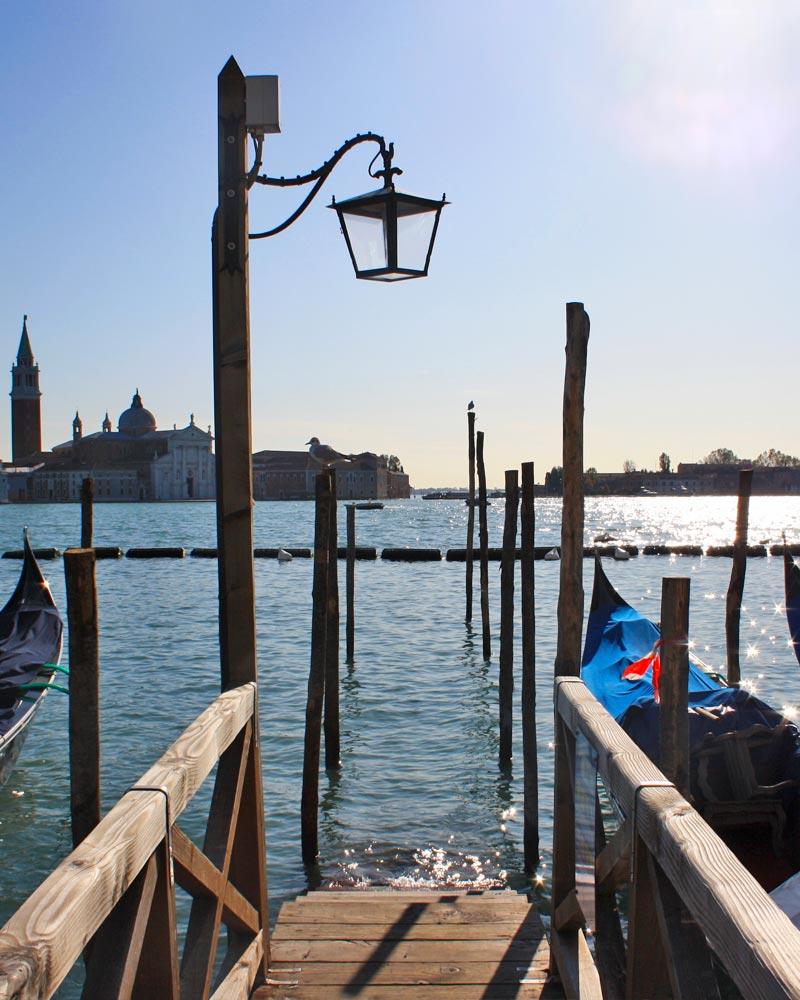 Italy Venice Gondoala Bridge