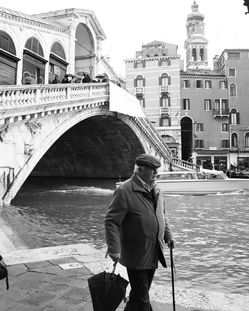 Italy Venice Rialto Bridge