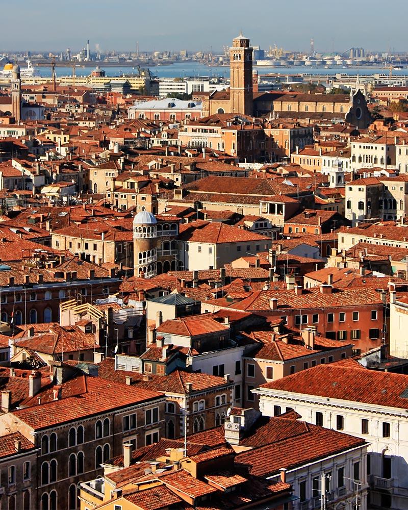 Italy Venice Rooftops