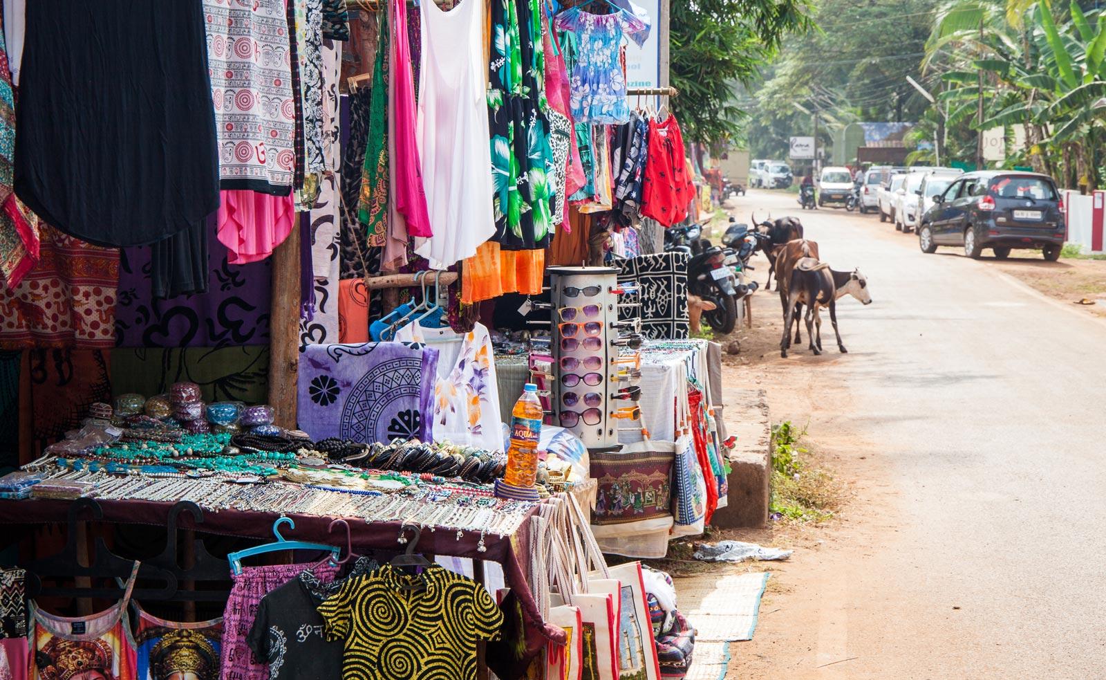 Agonda Shopping Streets