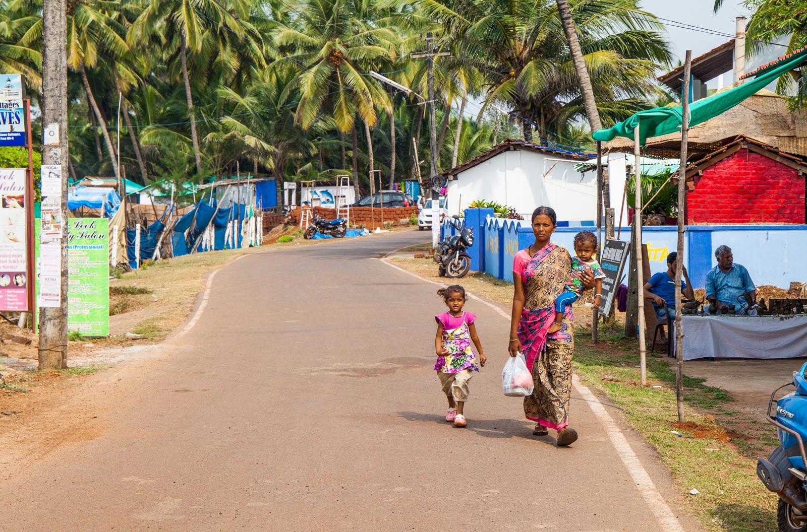 Agonda Goa Streets