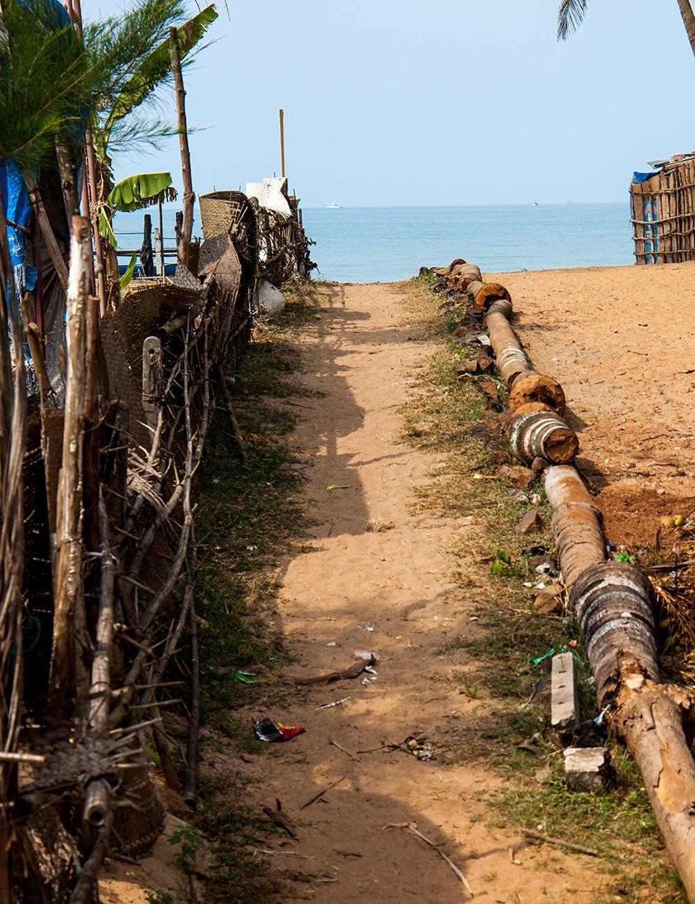 Agonda Beach Path