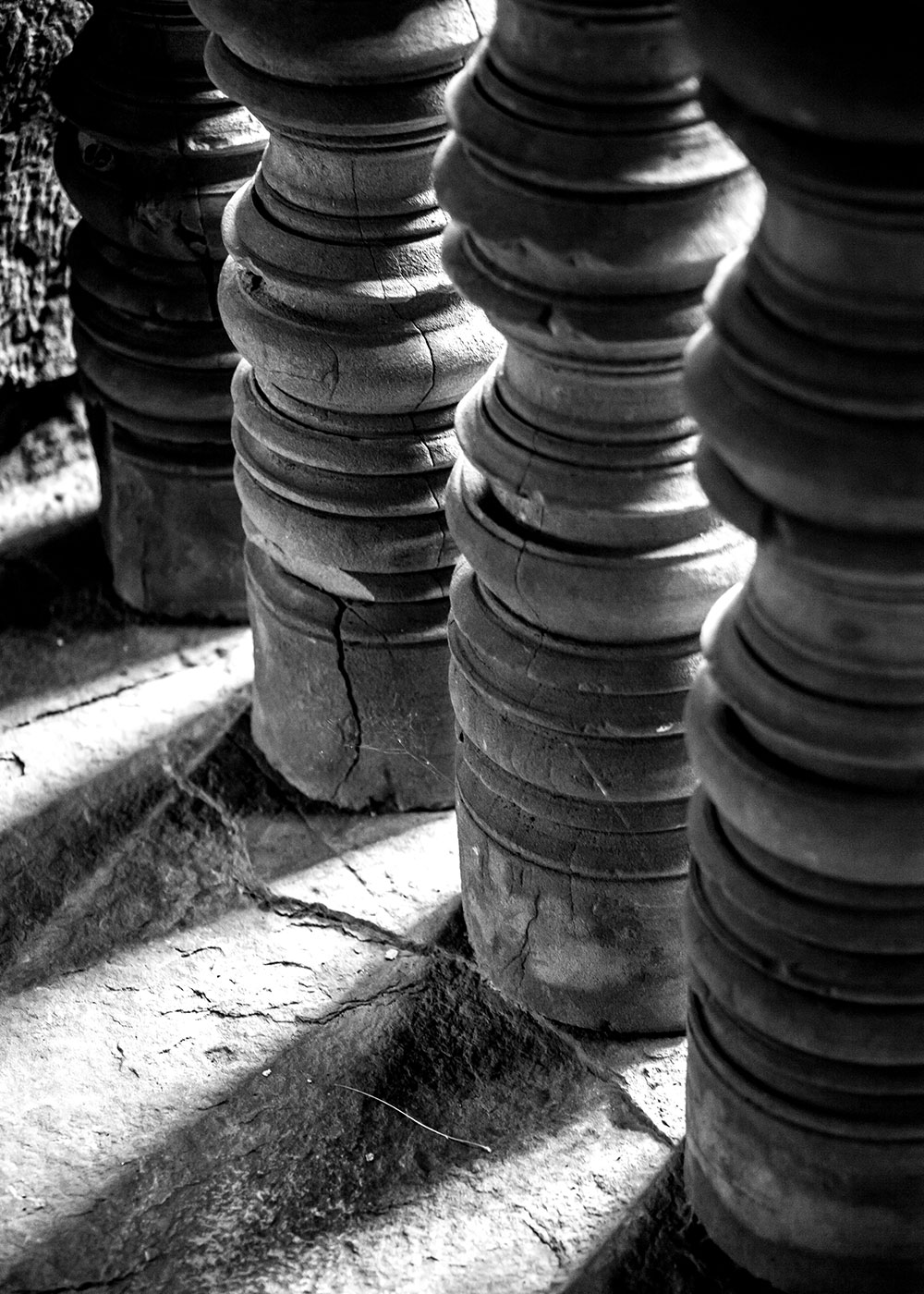Angkor Wat Black and White-5