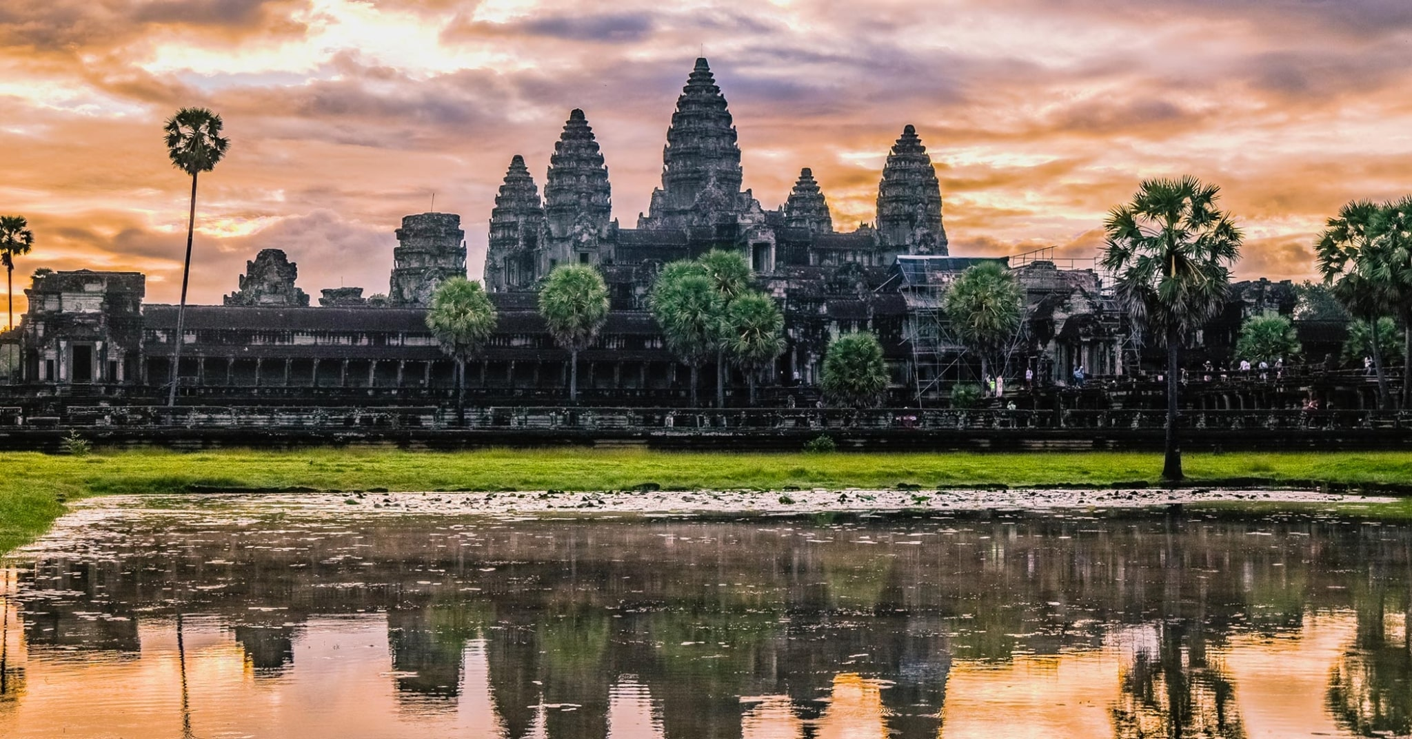 Sunrise angkor wat photography