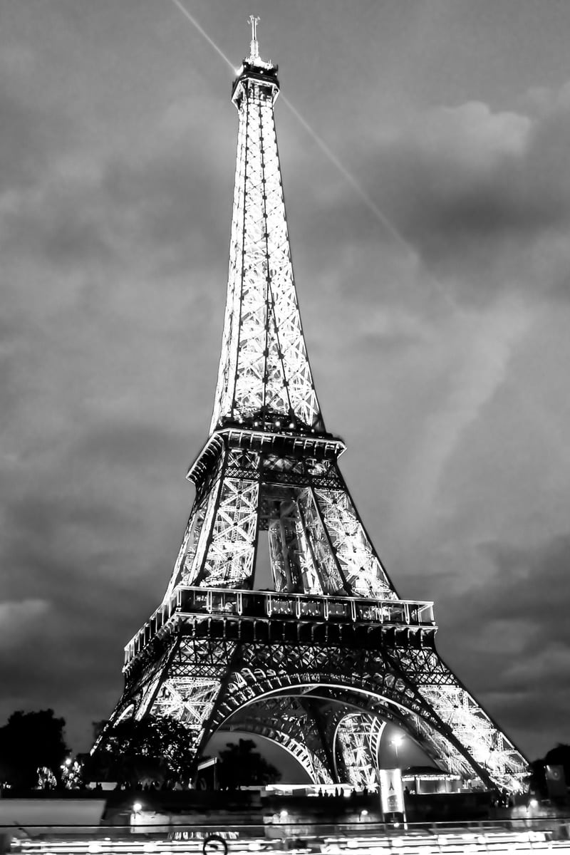 Paris Black and White