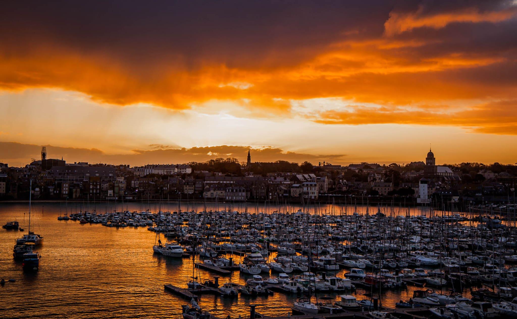Sunrise in St Malo