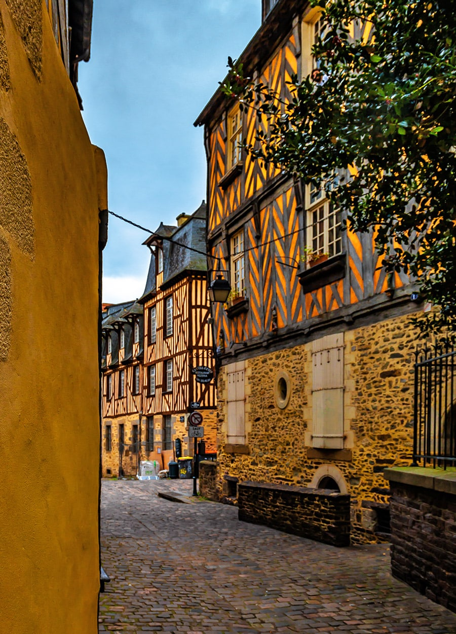 Rennes Old Town