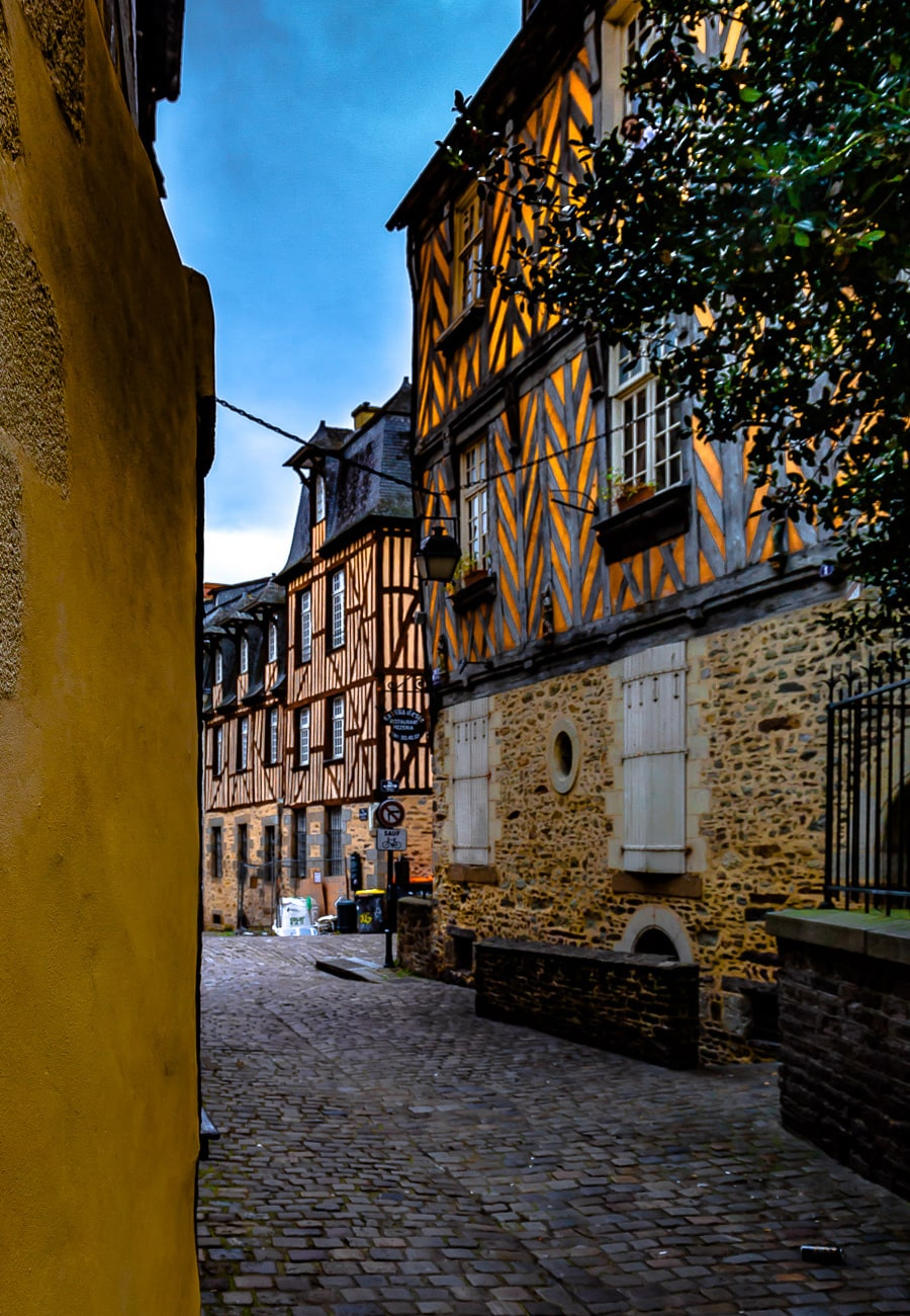 Rennes Northern France