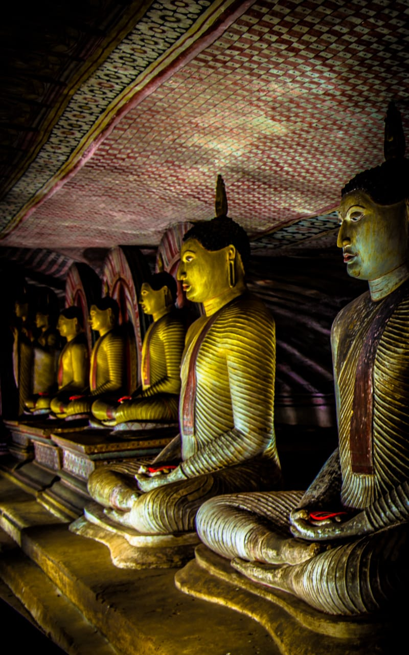 The Dambulla Caves