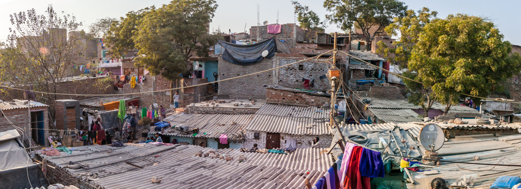 Slums of Delhi