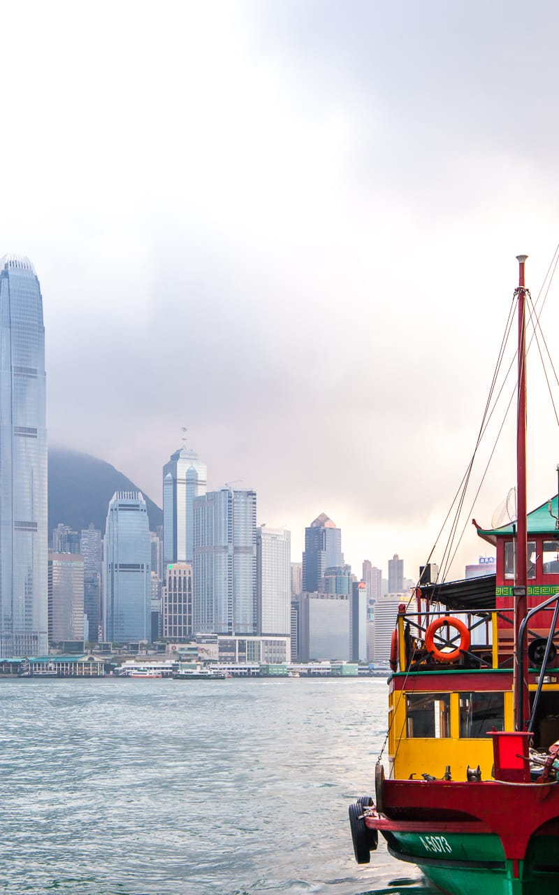 Hong Kong Boat Photography