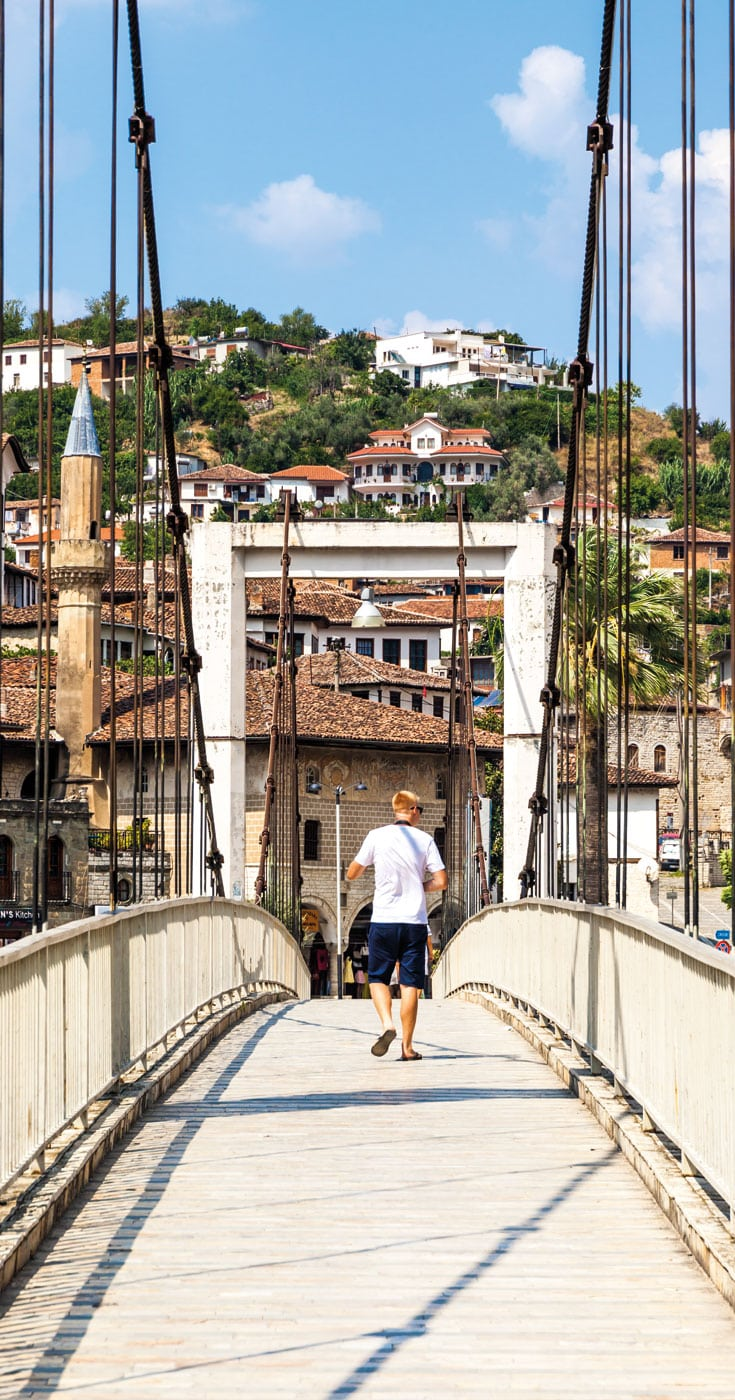 Crossing Bridges in Berat