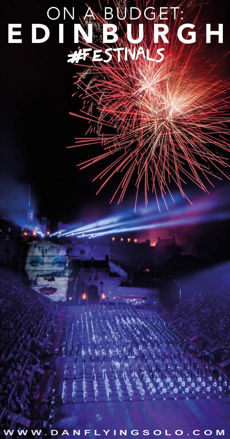 Edinburgh Festivals Fireworks