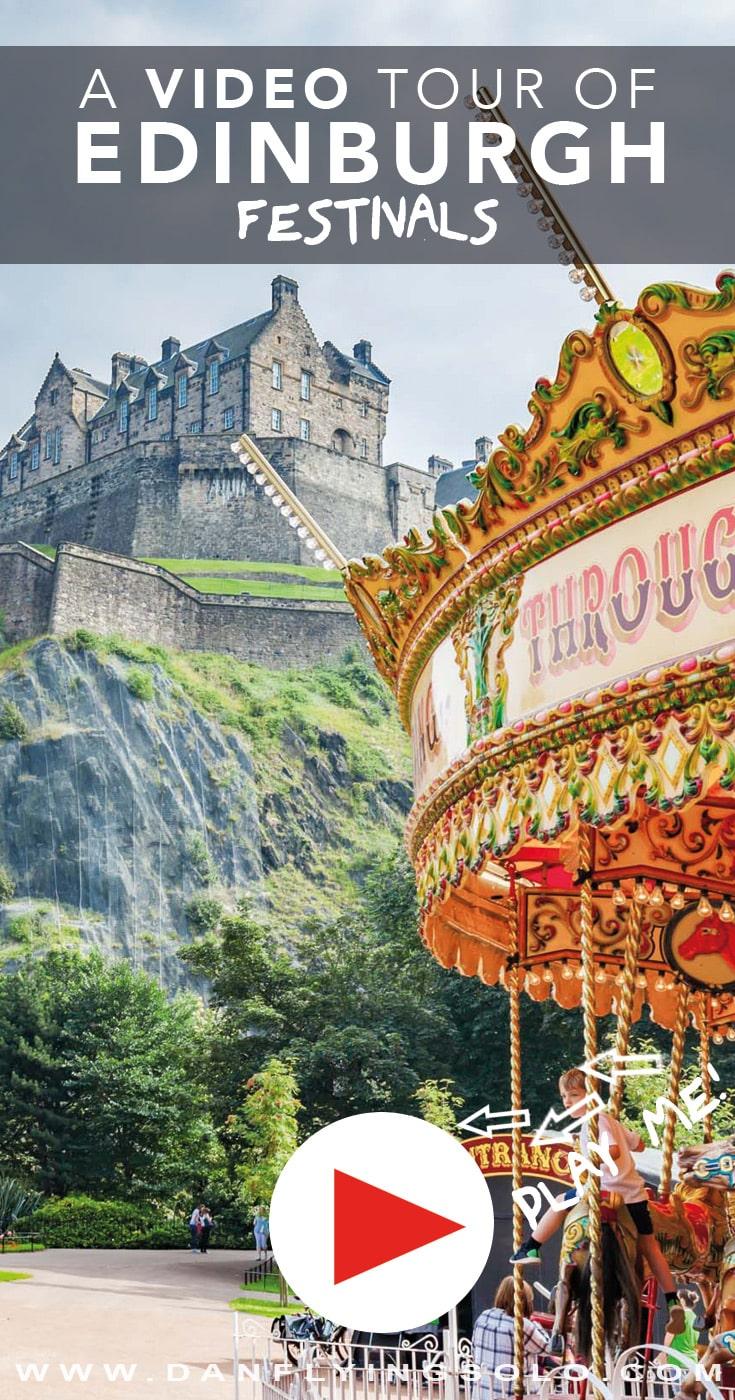 Edinburgh Festivals Travel Video