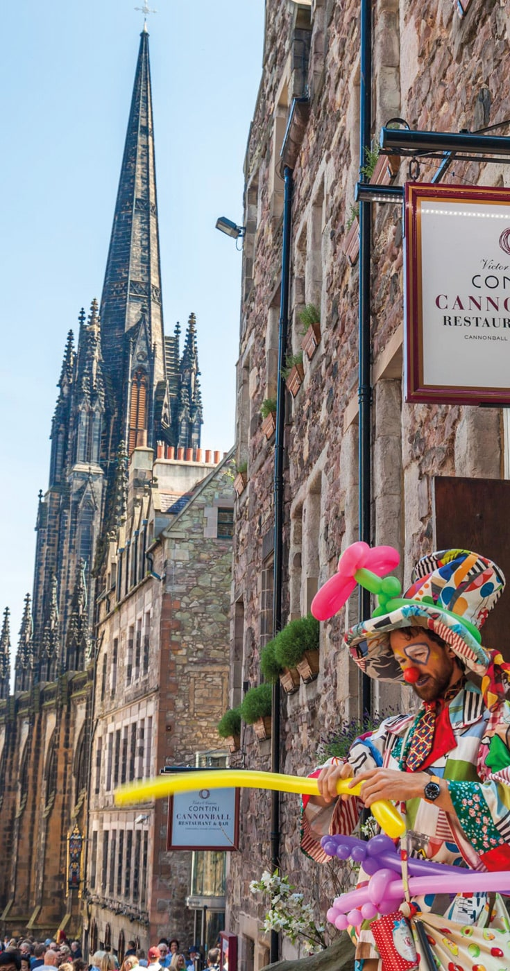 Edinburgh Festivals on a Budget
