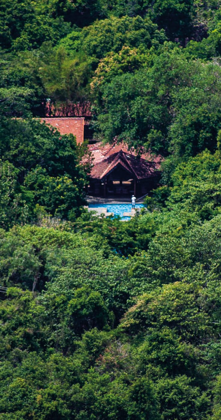 Hotel Sigiriya From The Rock