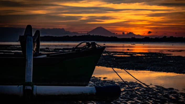 Indonesia Gili Air Sunset