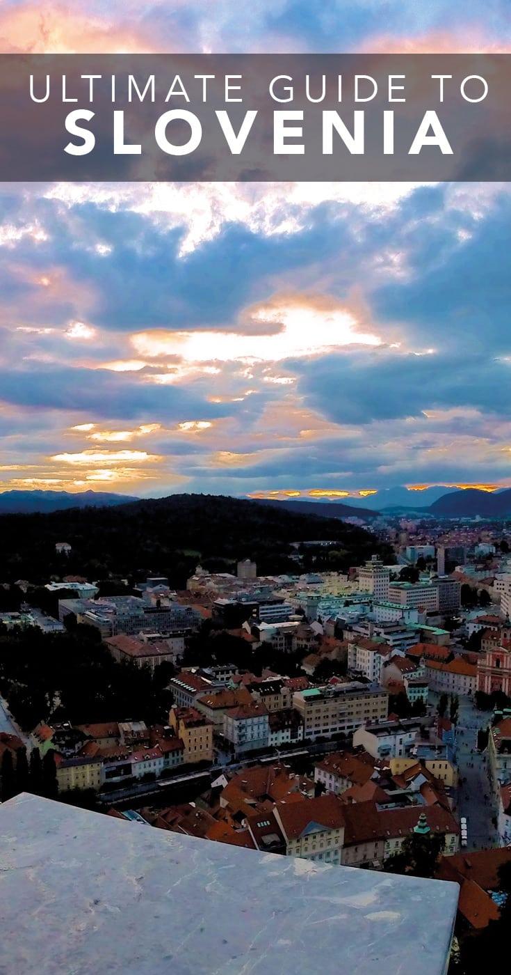 Ljubljana Canals Sunset