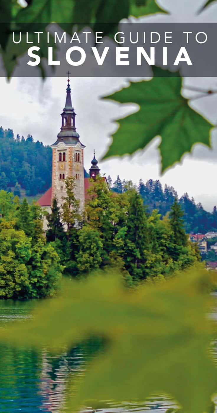 Lake Bled Slovenia WInter