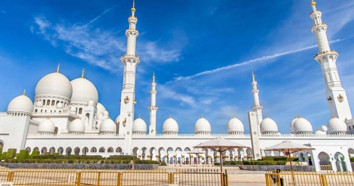 Abu Dhabi Grand Mosque Tour