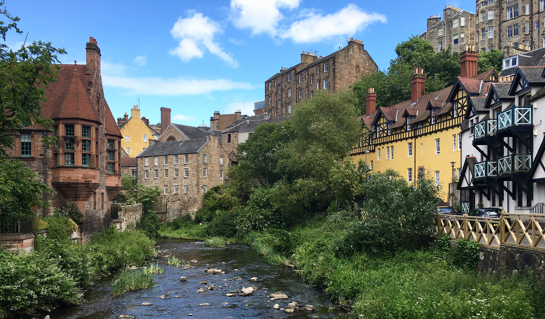 Dean Village Best Edinburgh Attractions