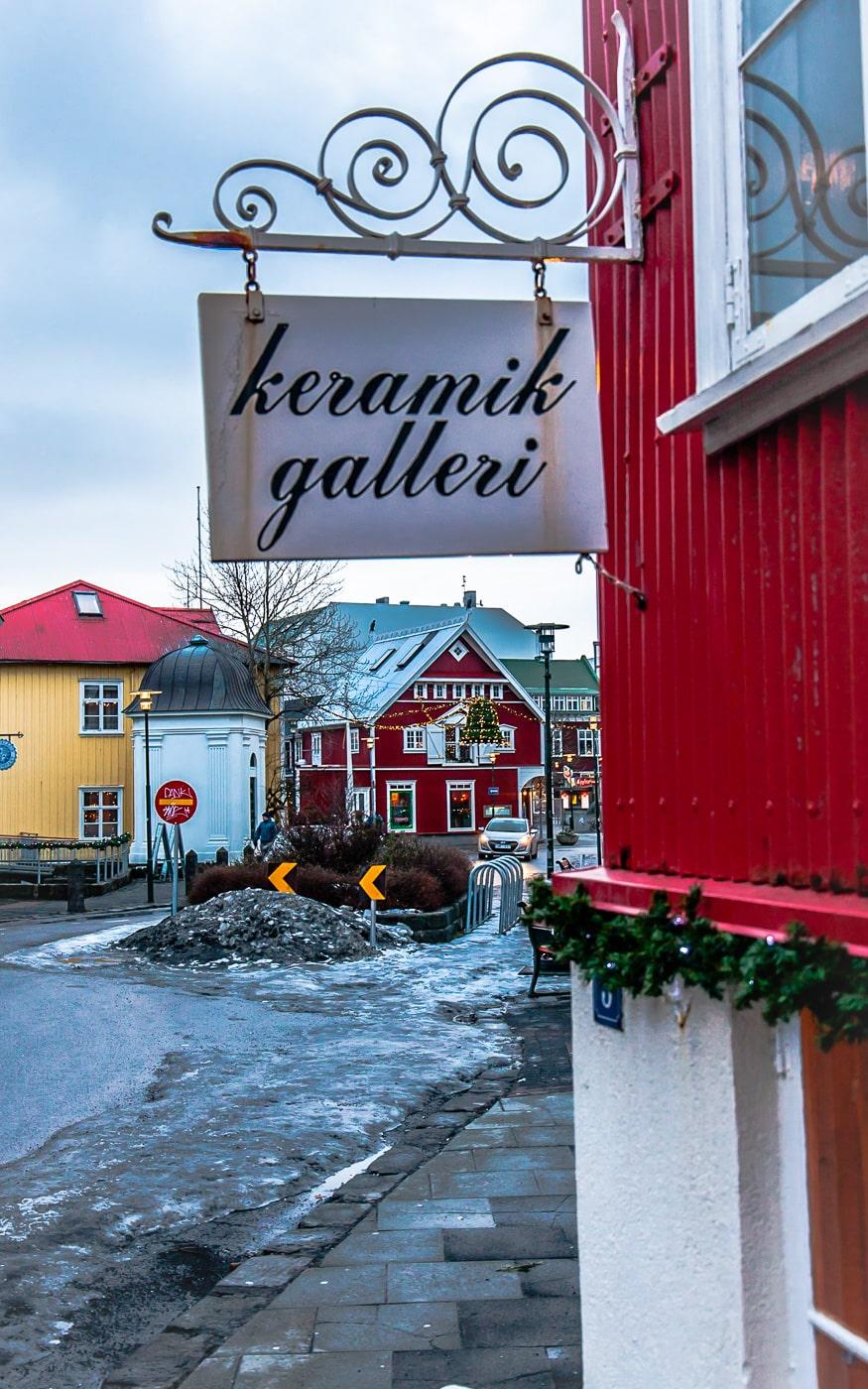 Iceland Reykjavik Winter