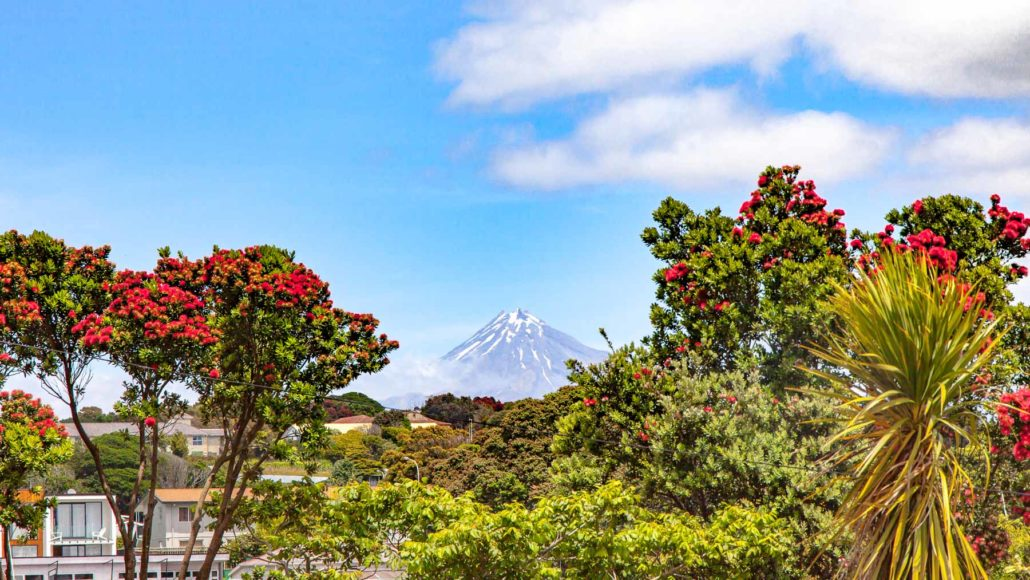 Mount Taranaki Views from New Plymouth