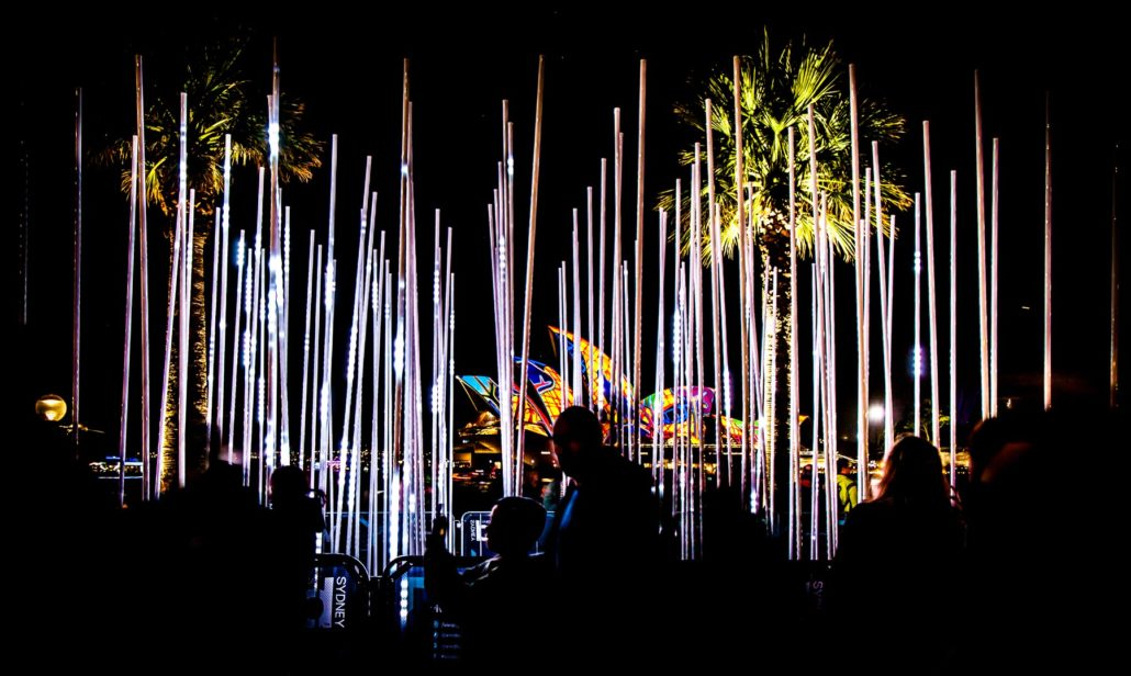 Vivid Sydney illuminates the city