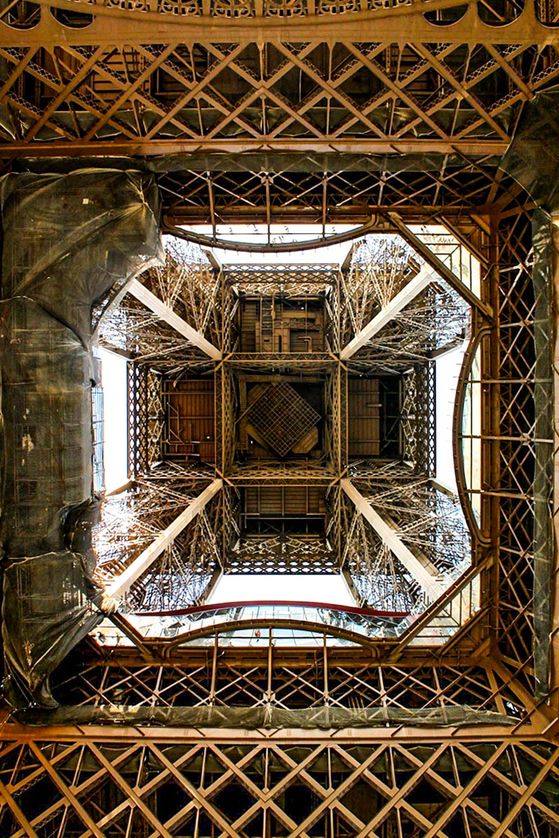 Paris from below