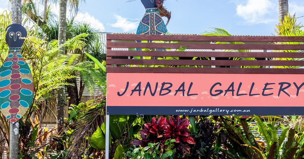 Janbal Gallery in Mossman