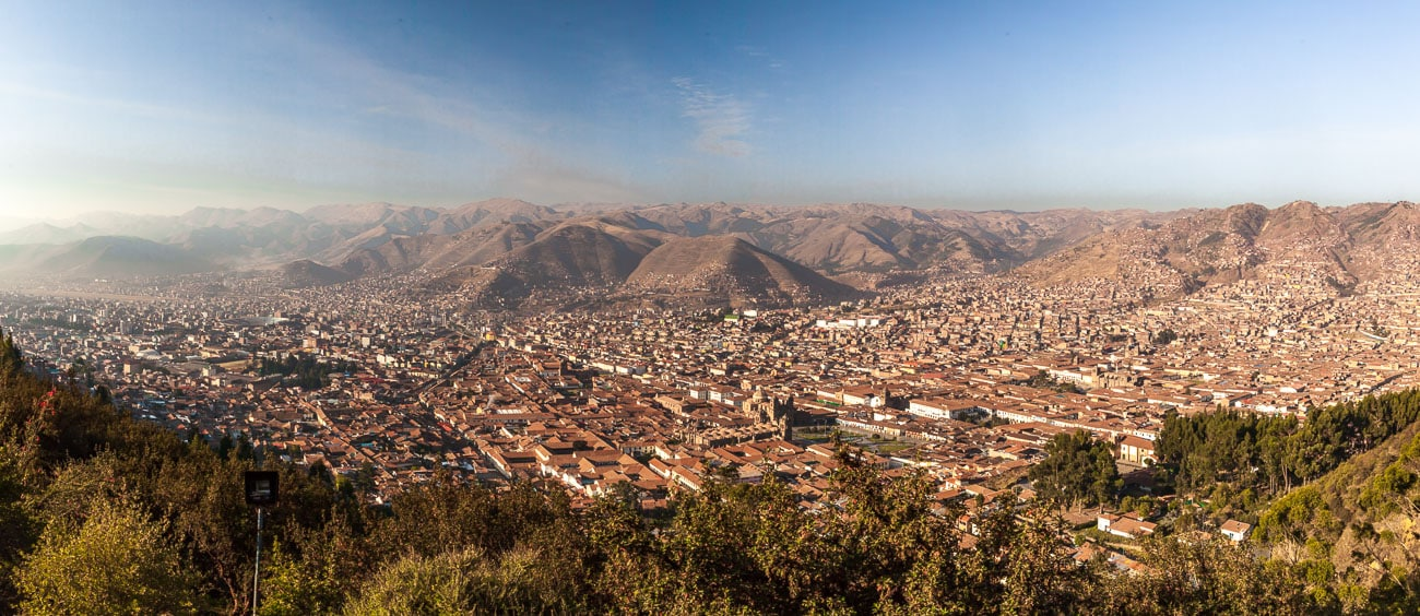 Cusco City from above