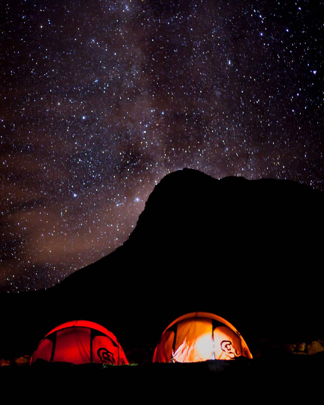 Lares Trek Night Sky