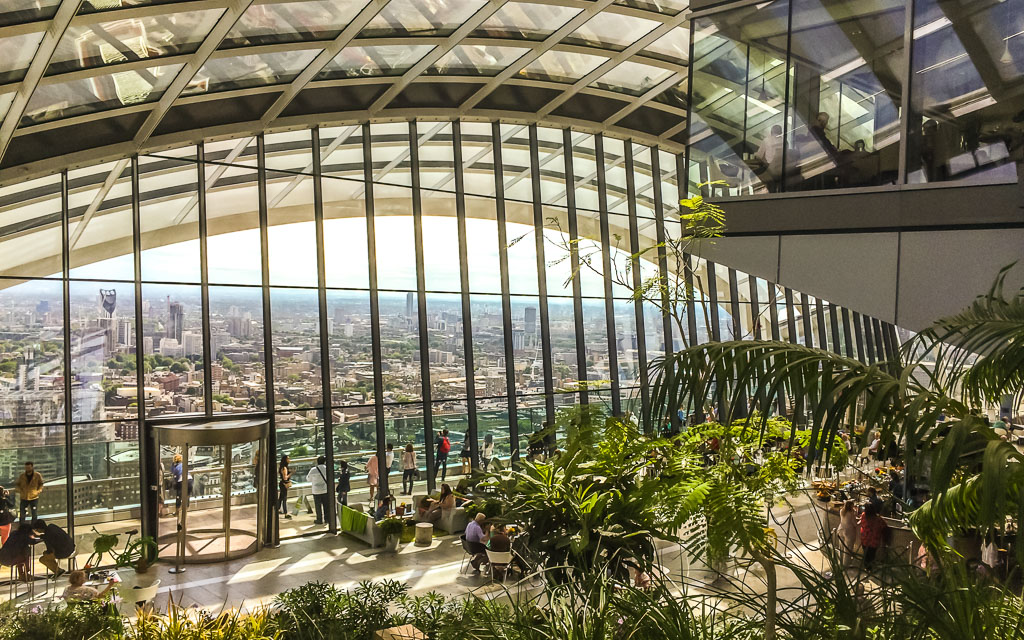 Views from Sky Garden