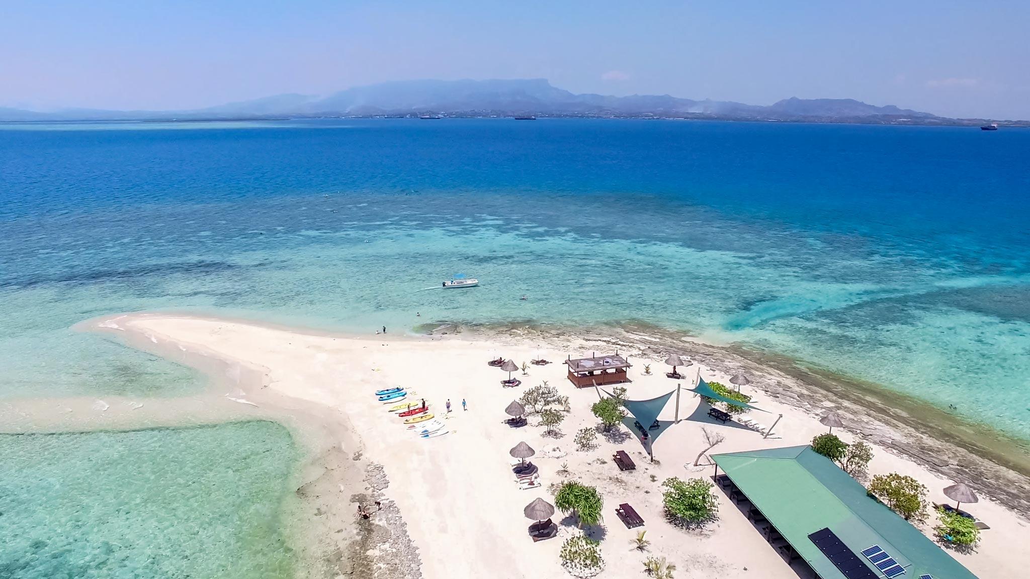 Private island Fiji