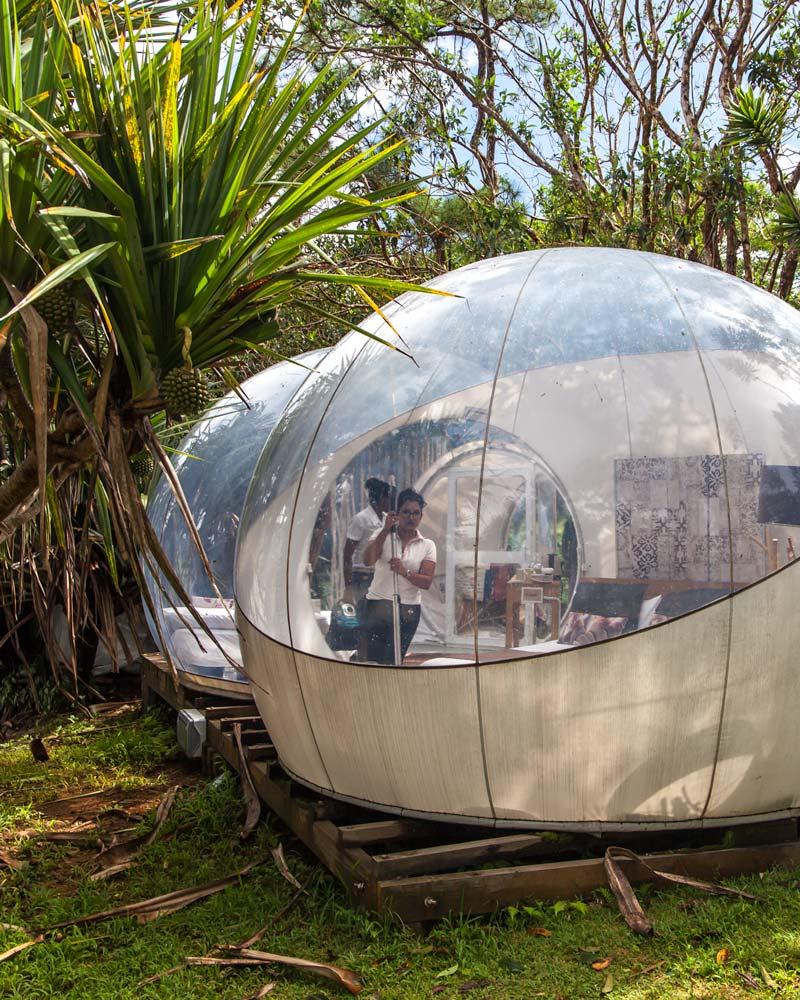Bubble Hotel Mauritius