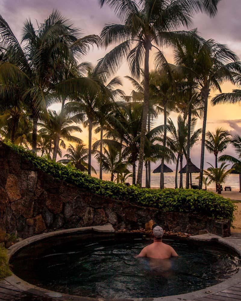 Private pool mauritius