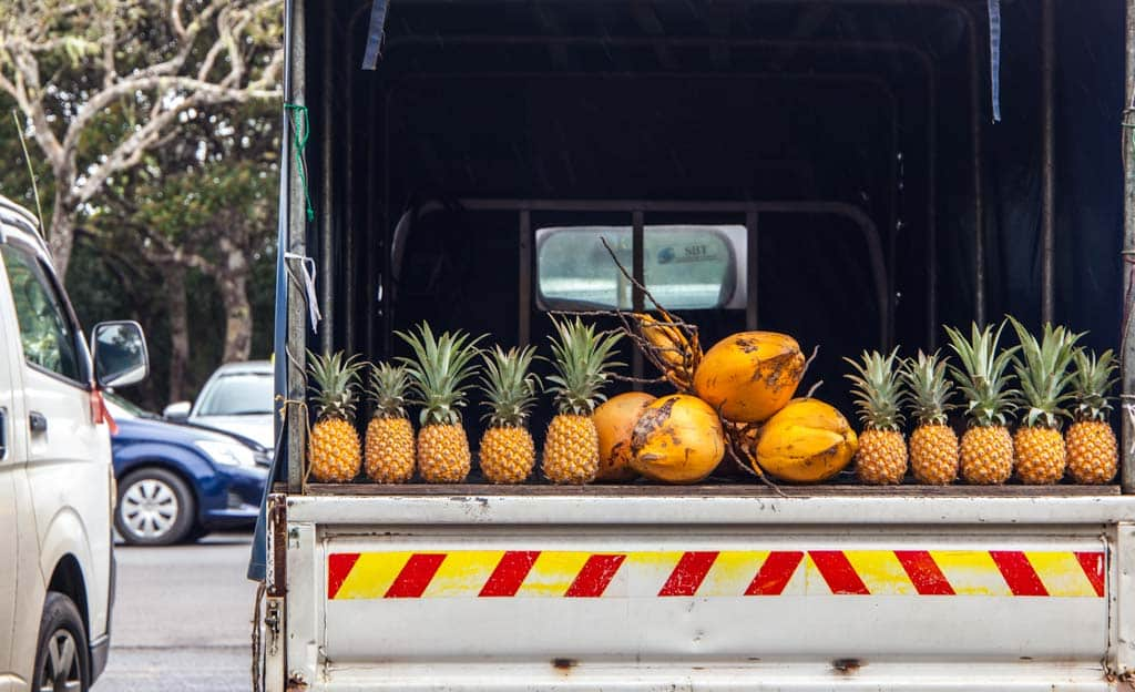 Pineapple Mauritius