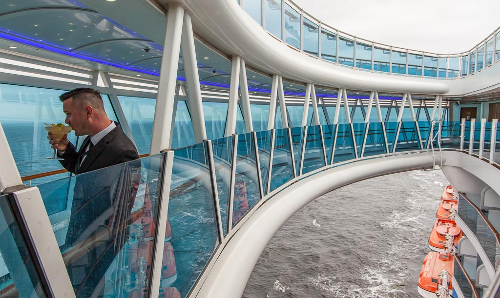 Princess Cruises Sky Walk